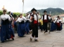 """Ofrenda Floral de la Agrupación """"San Marcos"""" de Radio Taxis de Santa Cruz de Tenerife a San Marcos Evangelista"""