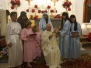 Portal viviente de las Navidades 2014 de la Parroquia del Sagrado Corazón de Pedro Álvarez