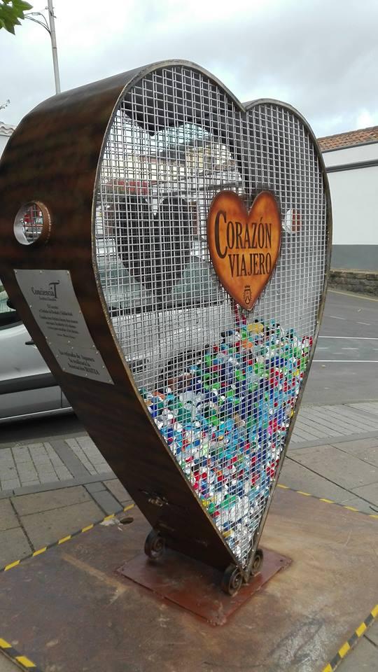 Tegueste acoge la escultura de ConcienciaT para la recogida ...