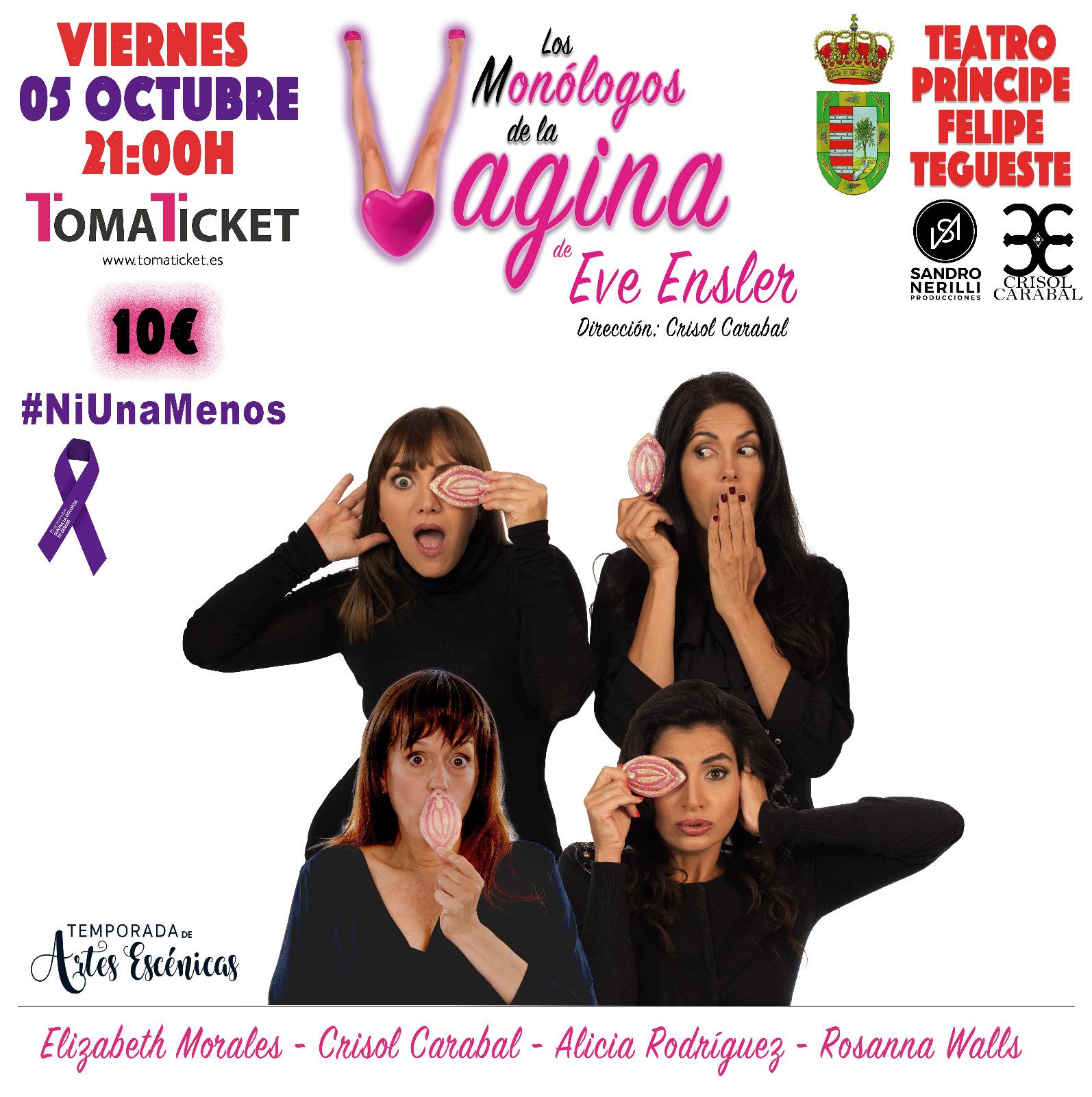 Este Viernes Tegueste Acoge Los Monologos De La Vagina Infotegueste